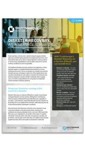 Disaster Recovery as a Service Thumbnail