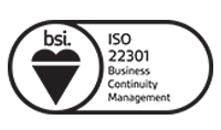 BSI logo - iso-22301-business-continuity