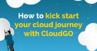 """Graphic saying """"How to kick start your cloud journey with CloudGo"""""""