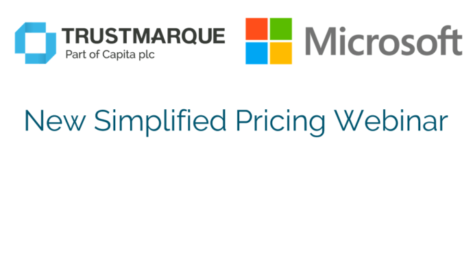 Microsoft Simplified Pricing Webinar for the Public Sector