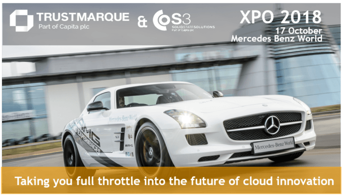 XPO 2018 event - 17th October at Mercedes Benz world