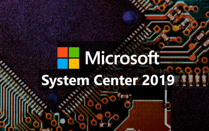 New Systems Center 2019 available from 1 March
