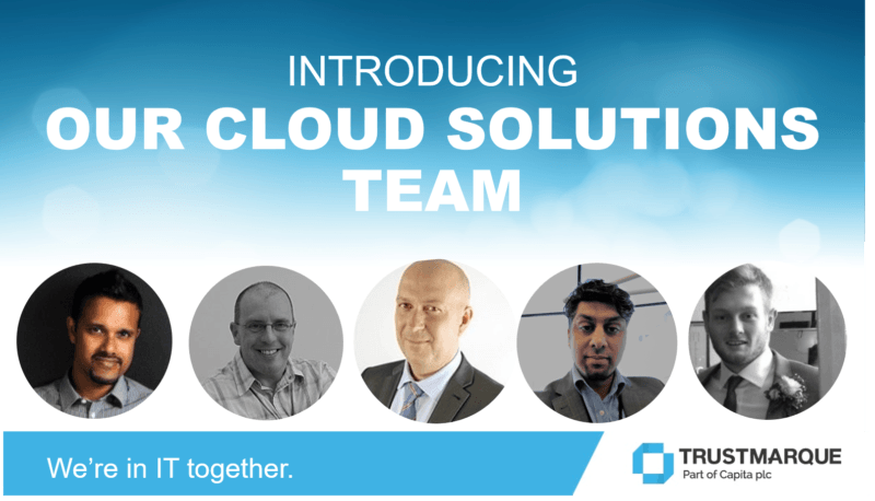 Image of our Cloud Solutions team