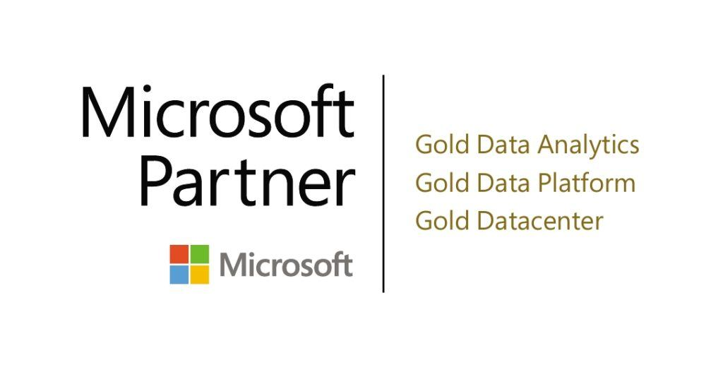 Microsoft Gold competencies for Data