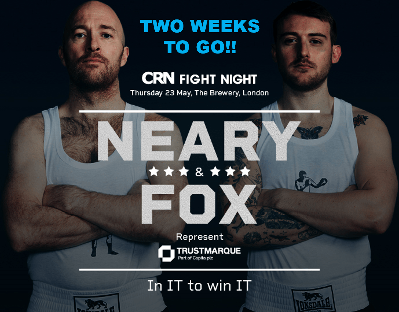 CRN Fight Night banner