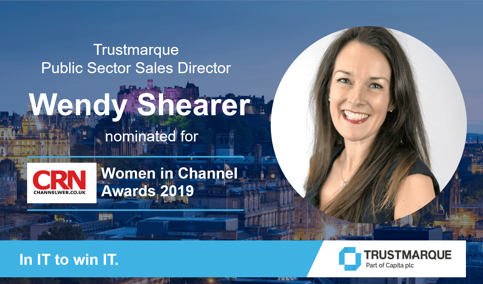 Wendy Shearer nominated for CRN Women in Channel Awards