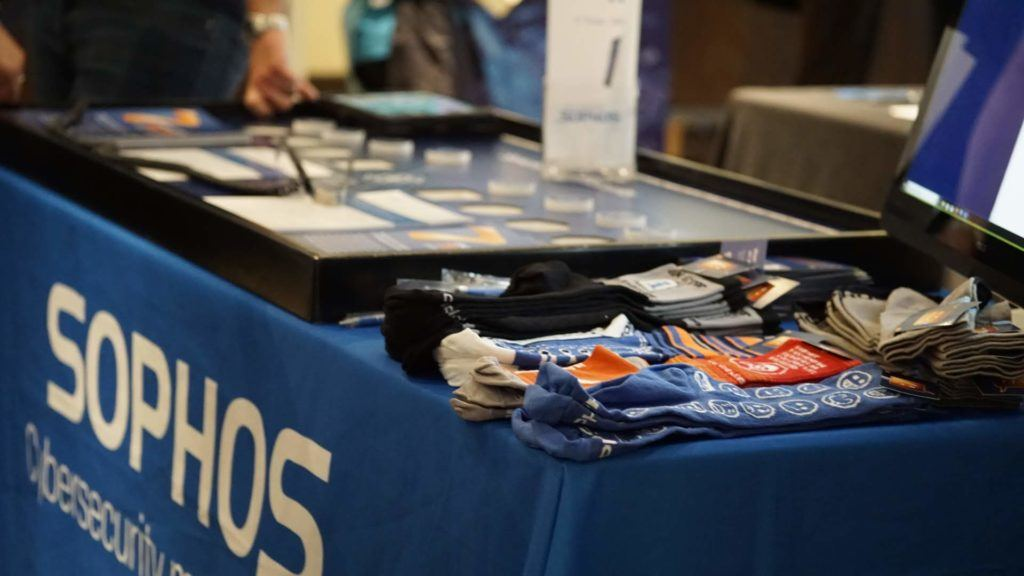 Sophos stand at Xpo South 2019