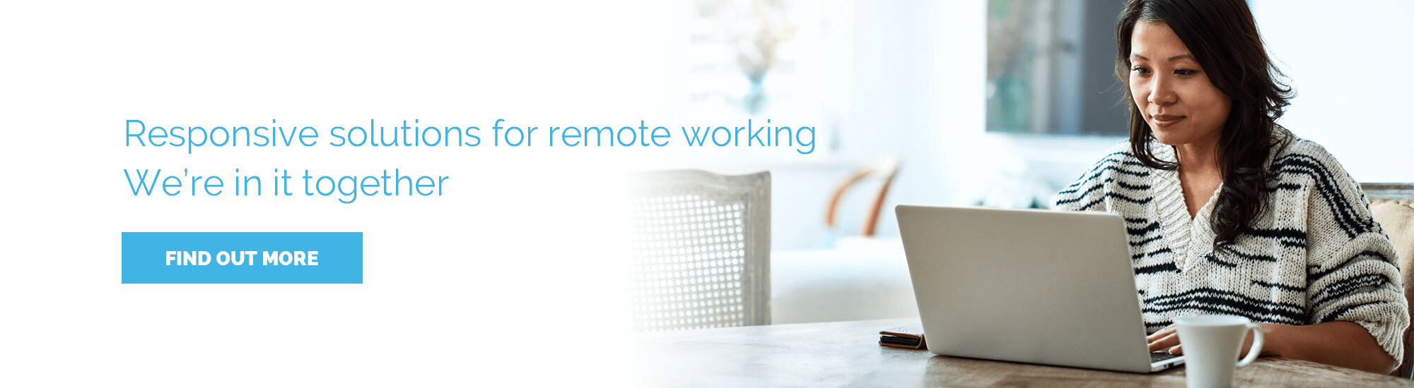 Tactical remote working solutions Homepage banner
