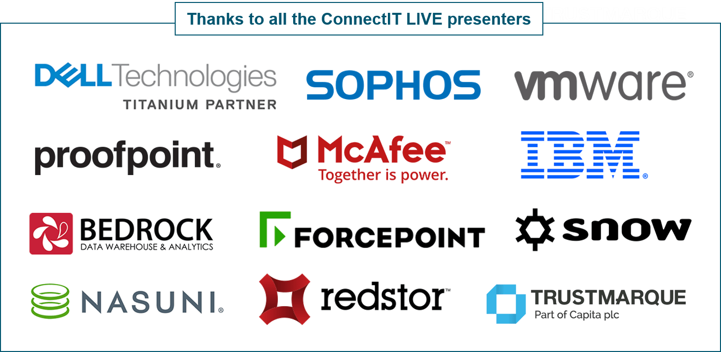 ConnectIT on-demand presenters