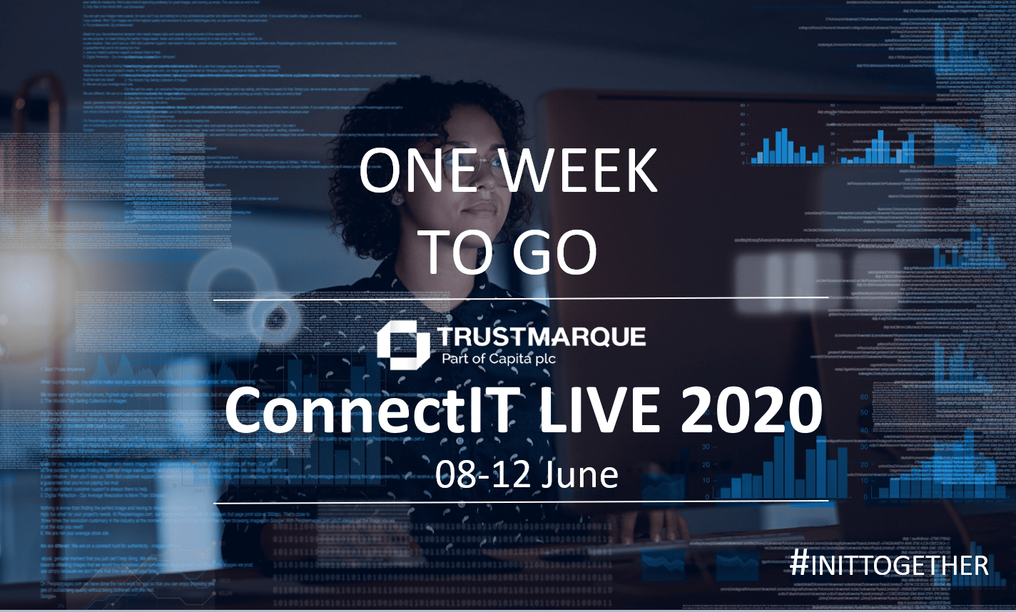 One week to go until ConnectIT LIVE 2020