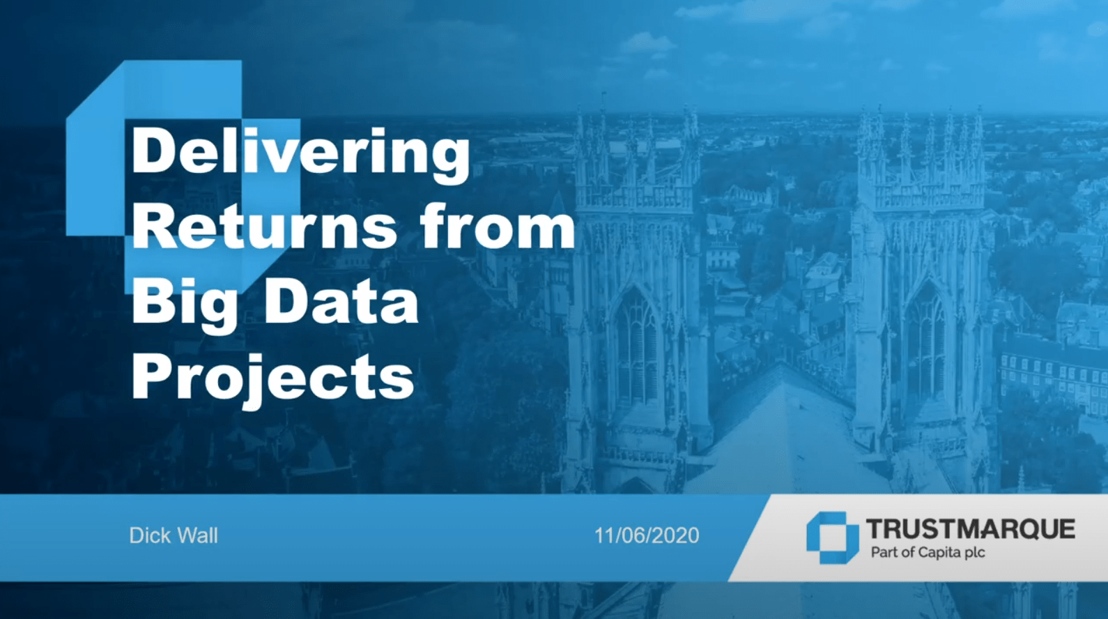 Delivering Returns from Big Data Projects
