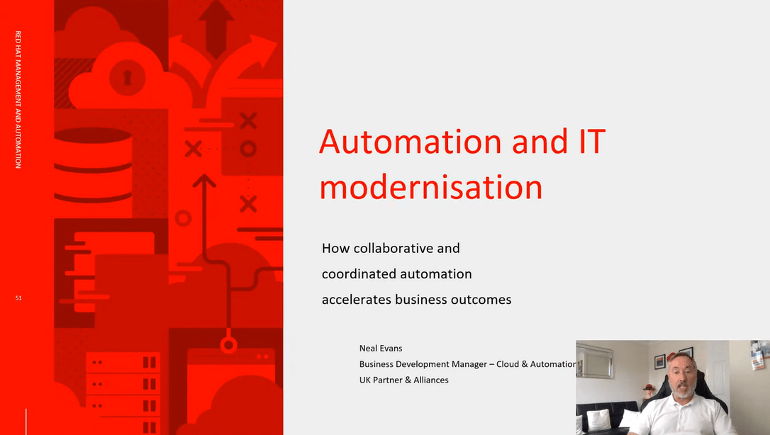 Automation and IT modernisation