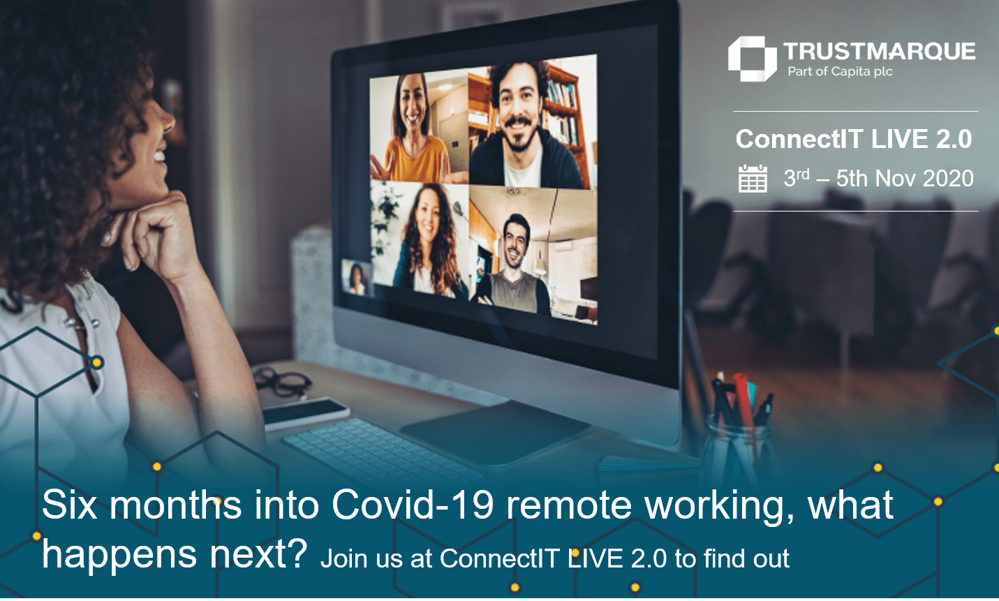 Remote working ConnectIT Live