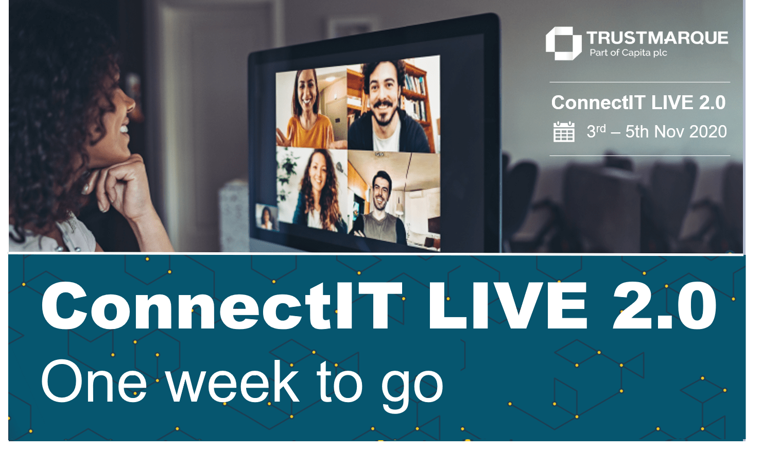 ConnectIT LIVE One week to go
