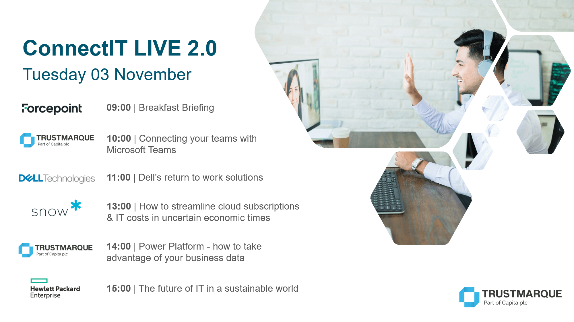 ConnectIT LIVE 2.0 - Tuesday 03 November