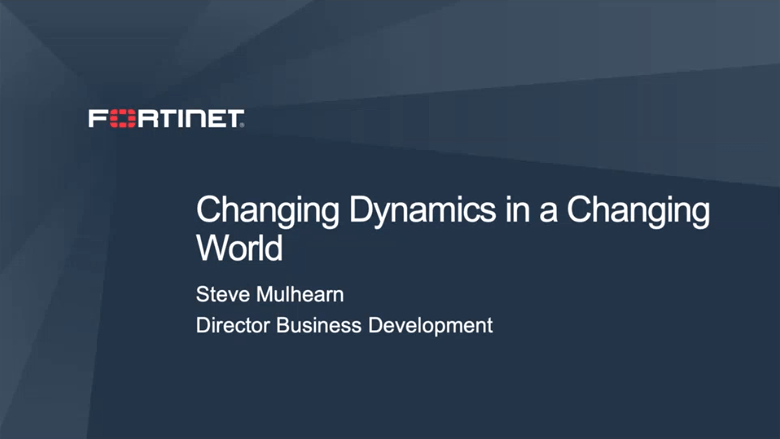 Changing Dynamics in a Changing World