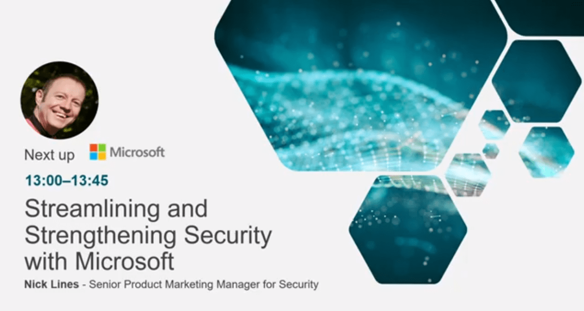 Streamlining and strengthening security with Microsoft