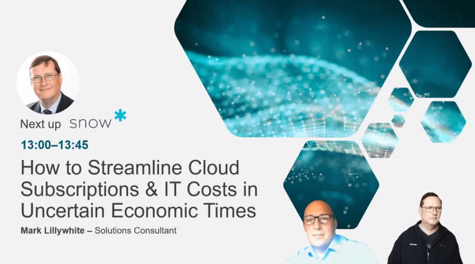 How to streamline cloud subscriptions & IT costs in uncertain economic times