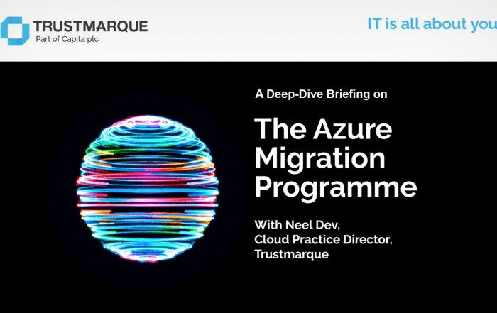 Azure Migration Briefing video