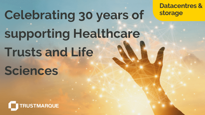 Celebrating 30 years of Storage and Datacentre Solutions at Trustmarque