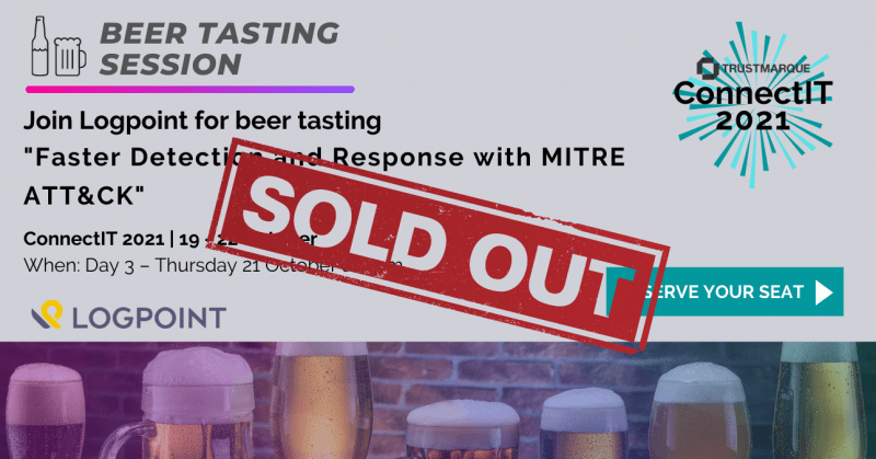 VIP session: LogPoint Beer Tasting: Faster Detection and Response with MITRE ATT&CK
